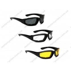 Захисні мото вело окуляри