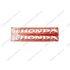 Наклейка букви Honda хром