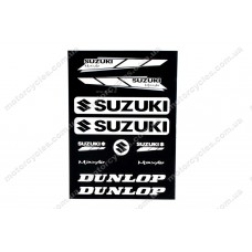 Лист наклейок Suzuki