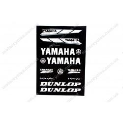 Лист наклейок Yamaha